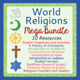 World Religions Mega BUNDLE - 10 Resources