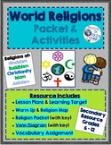 World Religions Packet & Activities