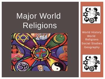 World Religions - Power point - 5 Major Denominations