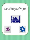 World Religions Project: Hinduism, Buddhism, Judaism, Isla