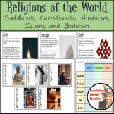 Religions of the World - Buddhism, Christianity, Hinduism, Islam, and Judaism
