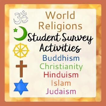 World Religions Activity & Worksheets | Teachers Pay Teachers