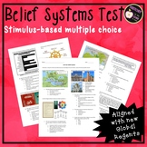Belief Systems Test: Stimulus-based multiple choice for ne