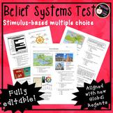 World Religions Test: Stimulus-based multiple choice
