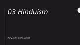 World Religions Unit 02 [Hinduism]
