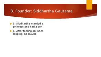 World Religions Unit 03 [Buddhism]