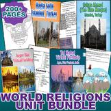 World Religions Unit *Unit Bundle* (World History / Comparative Religions)
