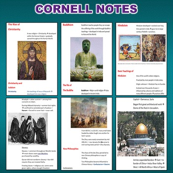 World Religions Unit *Unit Bundle* (World History / Comparative Religions)