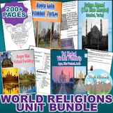 World Religions Unit Bundle (World History)