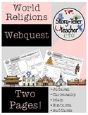 World Religions Webquest