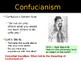 World Religions and Ethical Systems - Confucianism Origins
