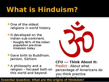 World Religions and Ethical Systems - Hinduism Origins