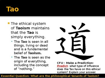 World Religions and Ethical Systems - History of Taoism