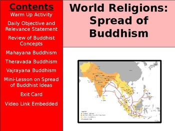 World Religions and Ethical Systems - Spread of Buddhism