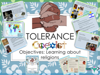 World Religions and Tolerance / learn about your neighbor'