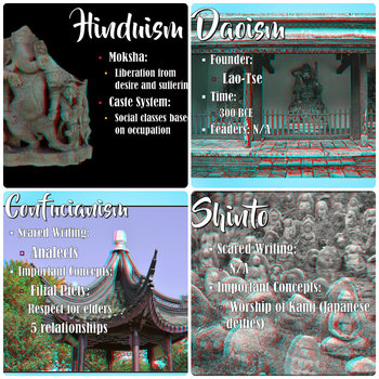World Religions in 3D PowerPoint