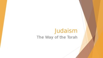 World Religiosn Unit 05 [Judaism]