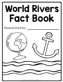 Rivers - World Rivers Research Project - River Fact Book