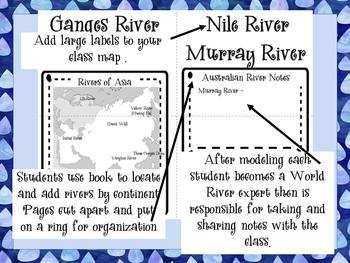 World Rivers - Third Grade Core Knowledge