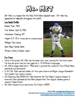 World Series 2015 Mascots - KC Royals vs. NY Mets - Compare & Contrast