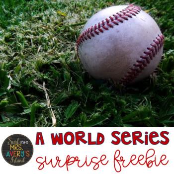 World Series Baseball FREEBIE