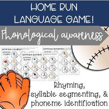 World Series Baseball - Speech & Language Phonological Awareness
