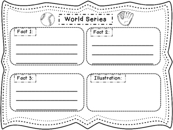 Close Reading ~ World Series ~ Nonfiction