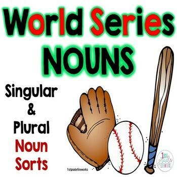 World Series NOUNS   |   Singular & Plural Noun Practice