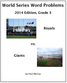 World Series Word Problems, 2014:  Grades 2 and 3