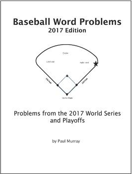 World Series Word Problems, 2017