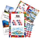 World Sights Bingo Game   Fun Classroom Game