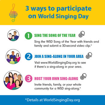 World Singing Day Lesson Plan [Primary & Secondary]