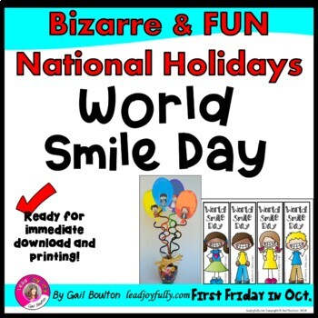 World Smile Day (First Friday in October)