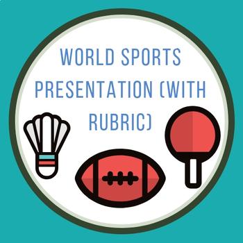World Sports Presentation
