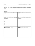 World Strings Research Pages with Worksheet