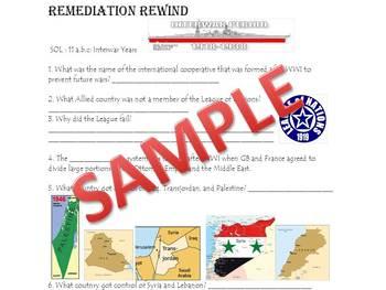 World Studies II Remediation Rewind Packet