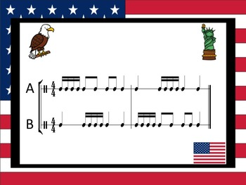 World Tour - A 2 Part Game for Practicing Sixteenth Notes