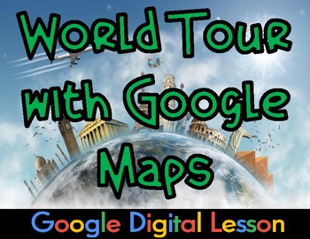 World Tour with Google Maps