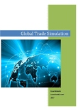 Global Trade Simulation - Assignment Sheet