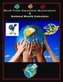 Global Trade Simulation - Teacher Mastersheet + National Wealth Spreadsheet