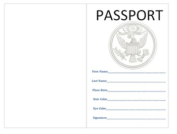 World Traveler Countries Research Passport Project