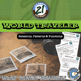 World Traveler -- International Currency Conversion Functions & Inverses Project