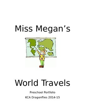 World Travelers Themed Student Portfolio