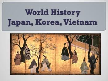 World - Unit 14 (Japan, Korea, Vietnam) PPT with Notes
