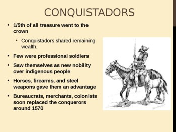 World - Unit 20 (Latin American Colonies) PPT with Notes