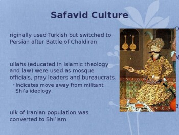 World - Unit 22 (Ottomans, Safavids, Mughals) PPT with Notes