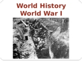 World - Unit 29 (WWI) PPT with Notes