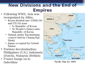 World - Unit 35 (20th c. Asia) PPT with Notes