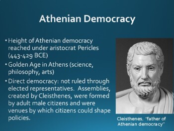 World History - Unit 5 (Classical Greece and Rome) PPT with Notes