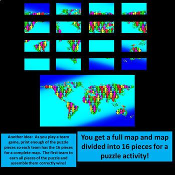 World Unity Bulletin Board Poster - Multi-Use!